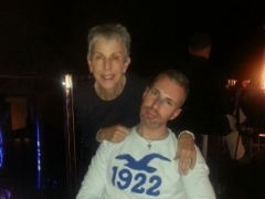 matt-and-his-mum-30th-dec-2013-at-zero-gravity
